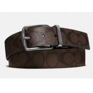 Coach Mens F64839 Cut to Size Reversible Belt